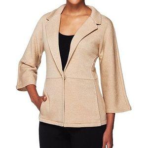 Isaac Mizrahi Plus Size Leisure XL Jacket NWOT
